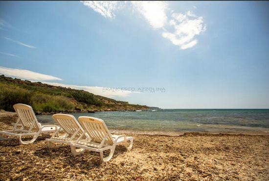 B&B Baglio Maragani: spiaggia privata B&B