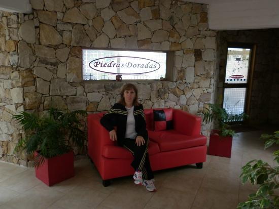Piedras Doradas: Entrada del Hotel - Resepción