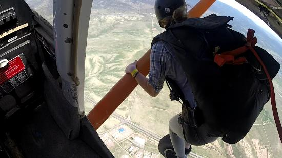 Penrose, Κολοράντο: Climbing Out Under the Wing - High Sky Adventures