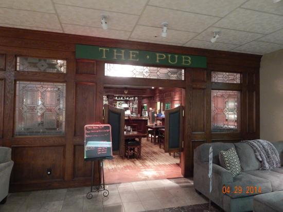 The Ashley Pub: Entrance to The Pub