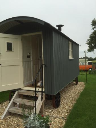 Odcombe, UK: Shepherds hut