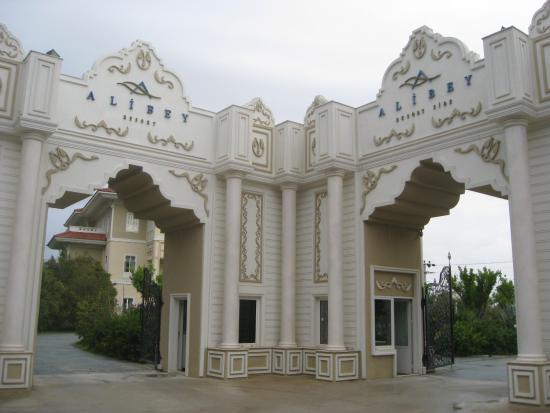 Ali Bey Resort Sorgun: Main entrance