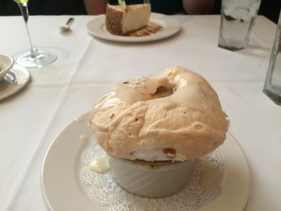 Commander's Palace Photo: Creole Bread Pudding Souffle