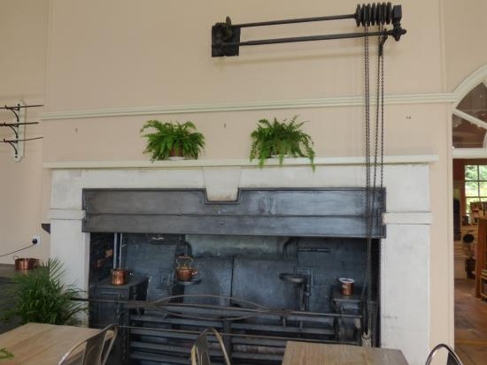 Uppark: Old Kitchen Range In Cafe