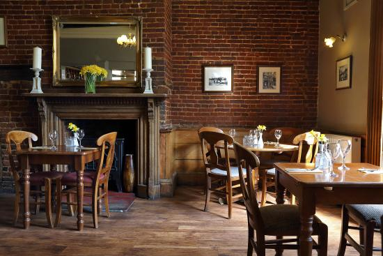 The Black Boys Hotel & Restaurant: Restaurant at The Black Boys in Aylsham, Norfolk