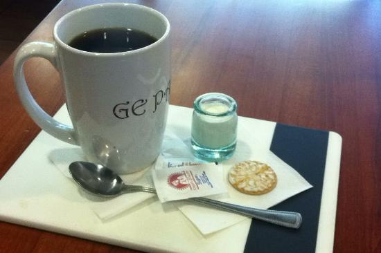 Gepade Caffe: Excellent Coffee