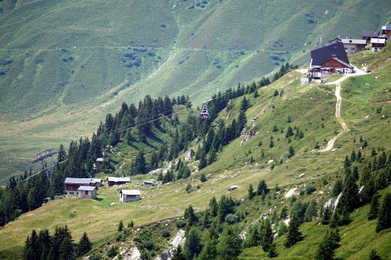 Hotel Belalp : View of Ski lift