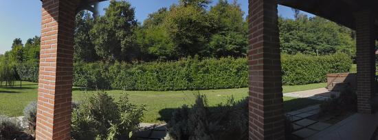 Farm House Altana del Motto Rosso : Dalla veranda della camera...
