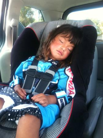 Dana Point, Kalifornien: Bike riding can take a lot out of you!