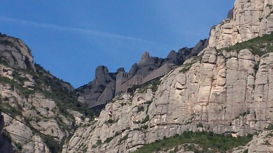 Barcelona Turisme Montserrat & Sitges Day Tour: as seen on the way up