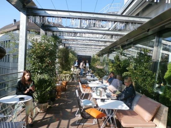 Pergola Dachterrasse terrace picture of hiltl dachterrasse zurich tripadvisor