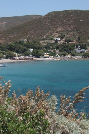 View from Patmos Paradise Hotel