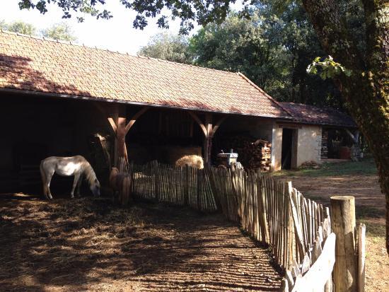 le hameau du sentier des sources
