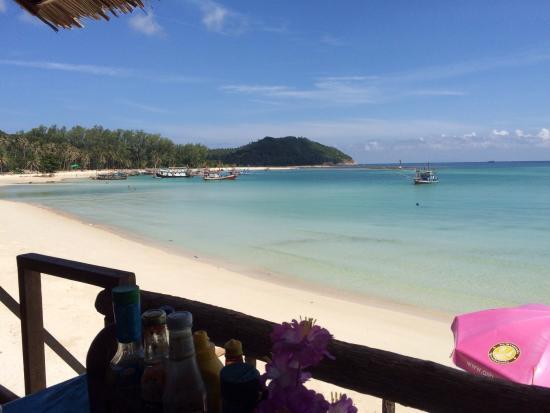 Mandalai Hotel: Plage pour la baignade