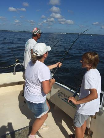 Chesapeake Bay Sport Fishing