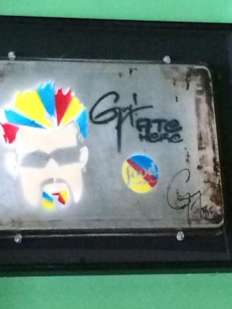 Parkside Market : Guy Fieri plaque