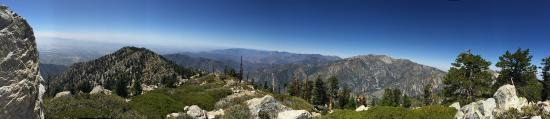 Mount Baldy, CA: View from Ontario Peak