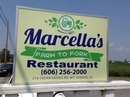 Mount Vernon, KY: Marcella's