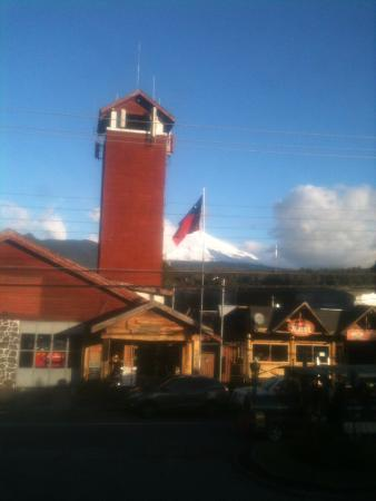 Hostal del Montanes: vulcao