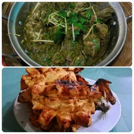 Bar B Q Tonight : Chicken Green Curry and Tikka