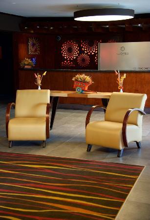 Autentico Hotel: Recepción