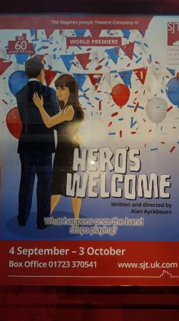 Stephen Joseph Theatre : Hero's Welcome