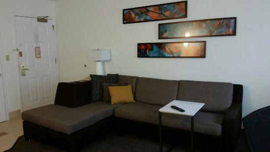 Awesome Big Comfy Sectional Sofa Picture Of Residence Inn Detroit Dailytribune Chair Design For Home Dailytribuneorg
