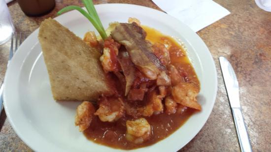 Brooksville, FL: shrimp and grits