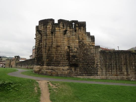 The Newcastle Town Wall
