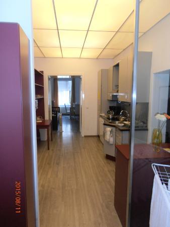 GAL Apartments Vienna: Cucina