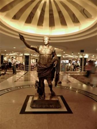 gorgeous statue in the forum picture of forum shops at caesars
