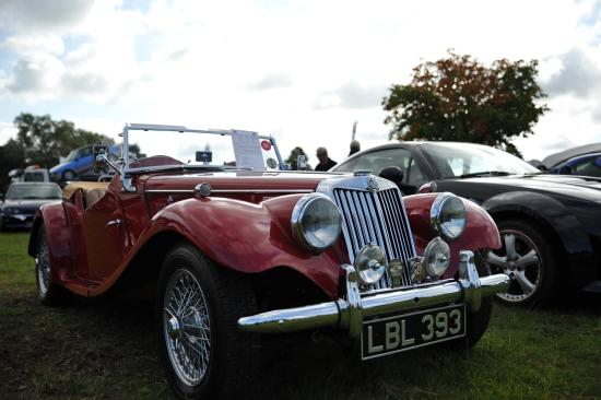 Cholmondeley Castle and gardens: Car show