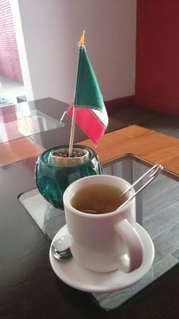 Jaguar Yuu Cafe : Infusión en Jaguar Yuu Café