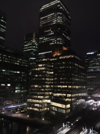 Marriott Executive Apartments London, West India Quay : View from our room, 2 bedroom apartment