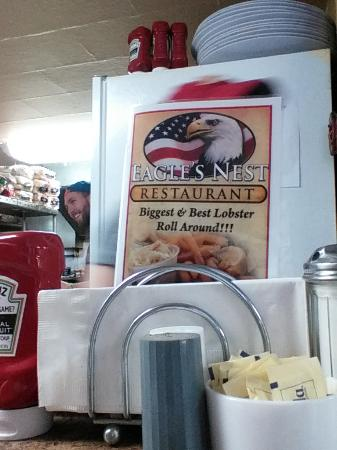 Eagles Nest: Sit at their counter or at a table if you can get one.