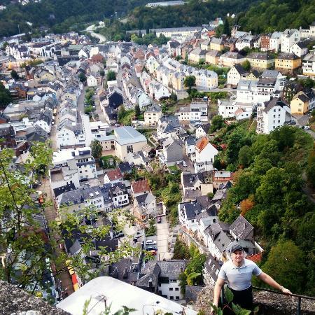 Burg Bosselstein: Vista das ruínas