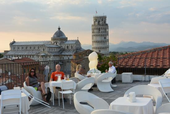 Grand Hotel Duomo : View from the rooftop bar