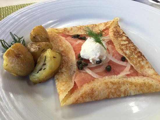 Arancino di Mare: Perfect breakfast - really delish!