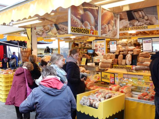 Utrecht, The Netherlands: Wandering the market