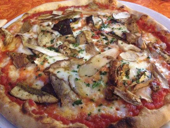 Sciabecco : pizza ai funghi porcini
