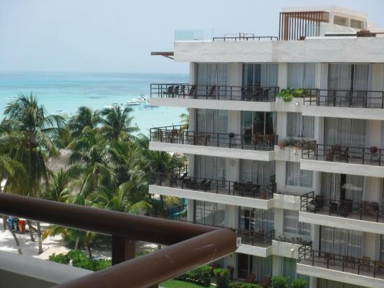 Ixchel Beach Hotel: Vista dalla camera