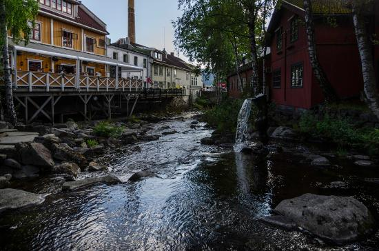 Scandic Victoria Lillehammer: The river