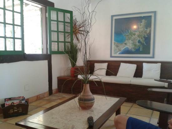 Barla Inn: Sala de Estar
