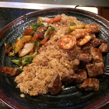 Toyo Japanese Sushi & Hibachi: Steak & Shrimp