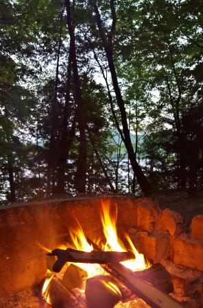 Rogers Rock : Our firepit