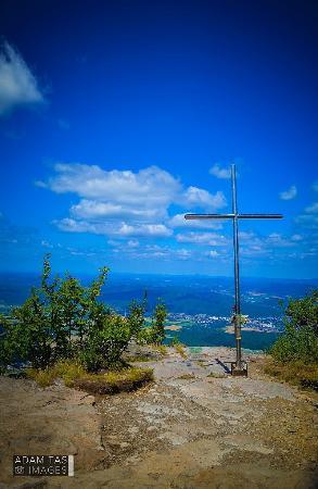 Snina, سلوفاكيا: the top of the Sninsky Kamen.  #adamtasimages #snina