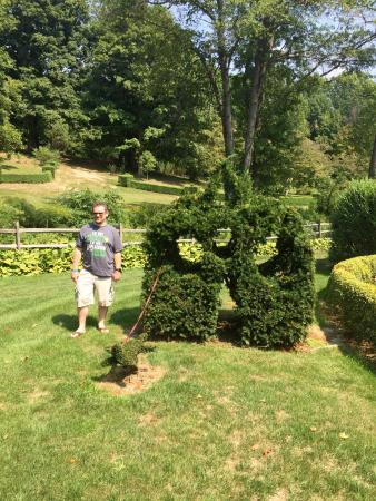 Monkton, MD: Ladew Topiary Gardens
