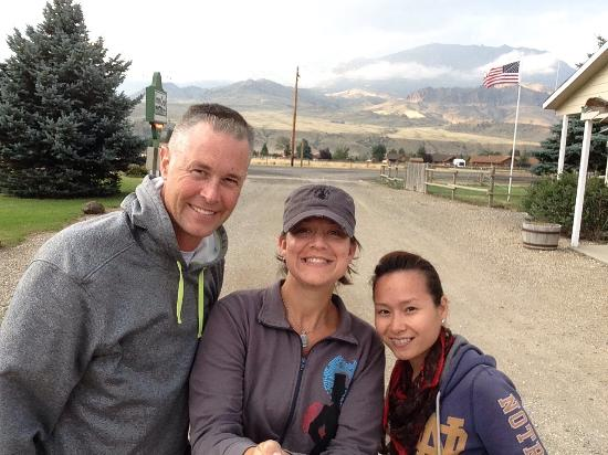 Green Creek Inn And RV Park : Selfie at Green Creek Inn-  beautiful setting