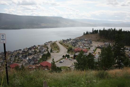 South Fintry, แคนาดา: View from Terazona area, looking South toward Kelowna