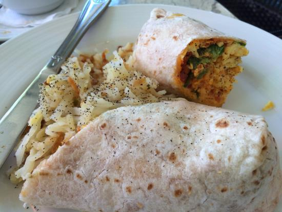 Indigo Restaurant: Breakfast Egg Wrap